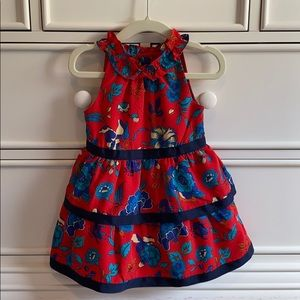 Janie and jack 12-18m floral print dress